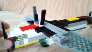 Лего літак Містер шміт бв 109.