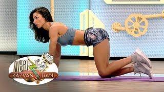 Fitness la Neatza cu Diana Stejereanu! Exercitii pentru coapse