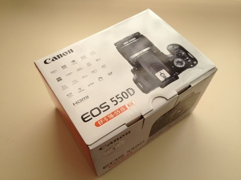 Unboxing The Canon EOS 550D/T2i