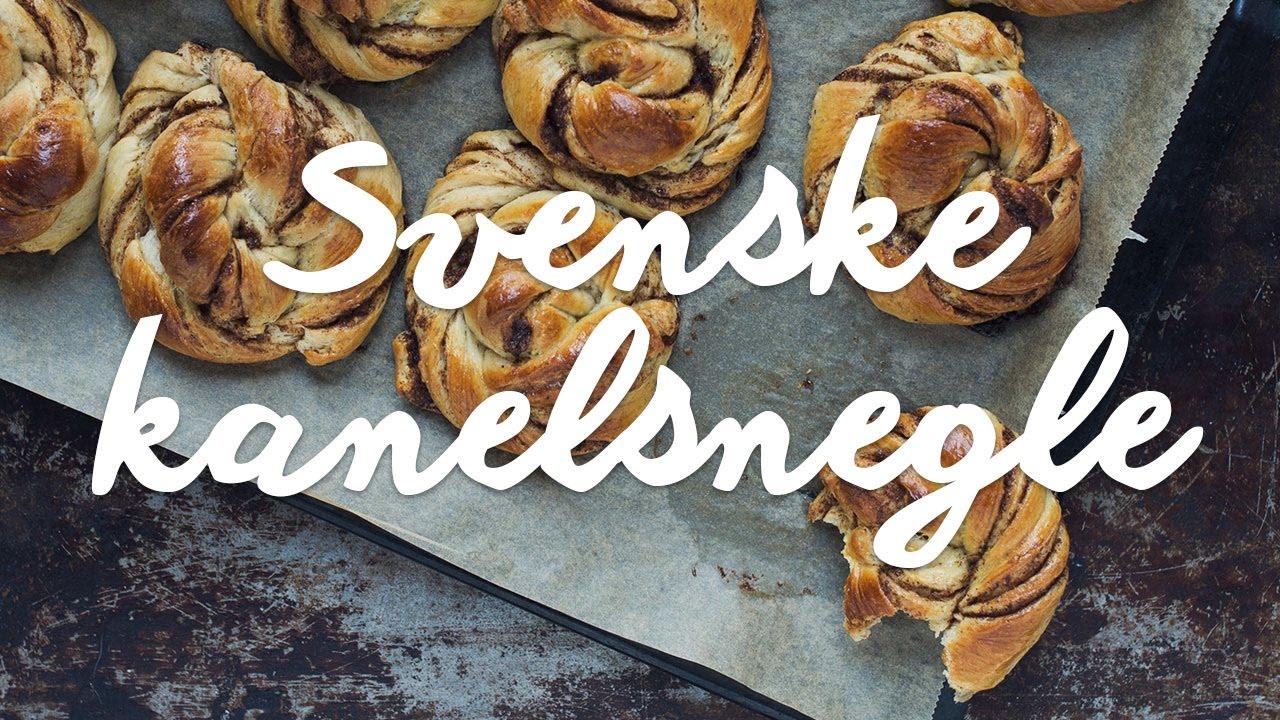 Verdens bedste svenske kanelsnegle I Nem og lækker opskrift - YouTube