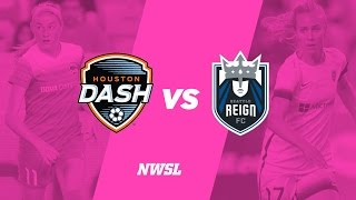 Houston Dash vs Seattle Reign FC full match