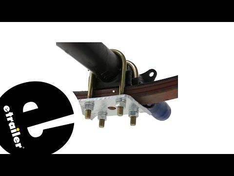 CE Smith U-Bolt Kit for Round Trailer Axles Review - etrailer.com