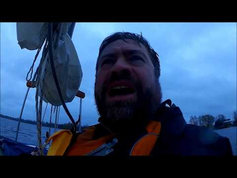 How to Camp on a Boat in Cold, Stormy Conditions
