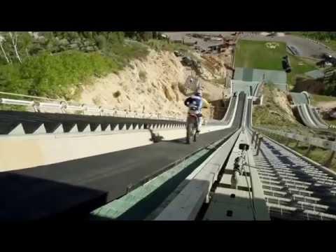 Best Jump Ever by Moto Bike - Extreme Daredevil Stunt