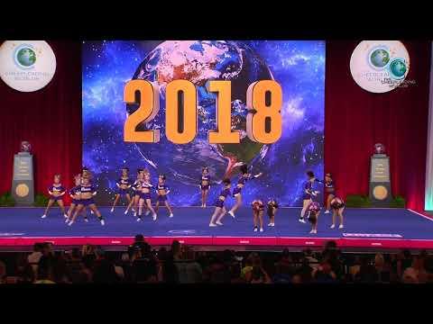 Bravo All Stars  NH  Cru5h 2018 Senior Small All Girl Prelims