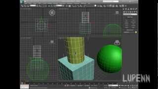 3DsMax для начинающих. Урок 1. Интерфейс и примитивы.