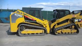GEHL RT 250 vs CAT 299D