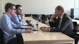 Ein Tag mit Arbeitgeberpräsident Valentin Vogt – Pascal Scheiber und Noah Zygmont