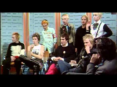 Sex Pistols: The Grundy Show incident 1/12/1976