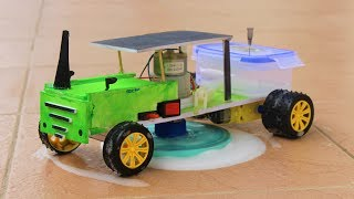 How to make a Tractor - Remote Controlled Tractor