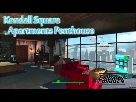 [PS4版fallout4]フォールアウト4 Mod Kendall Square Apartments Penthouse Including HalluciGen Prototype Items