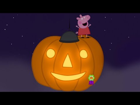 Peppa Pig English Episodes - GIANT Halloween Pumpkin! - #078
