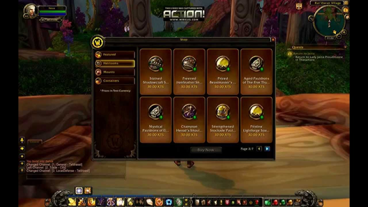 World of warcraft hellscream private server comentary youtube