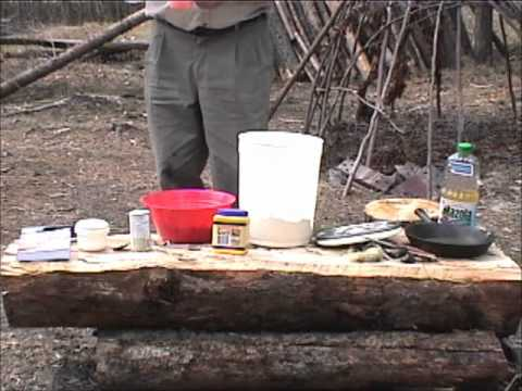 Bannock Making with Mors Kochanski