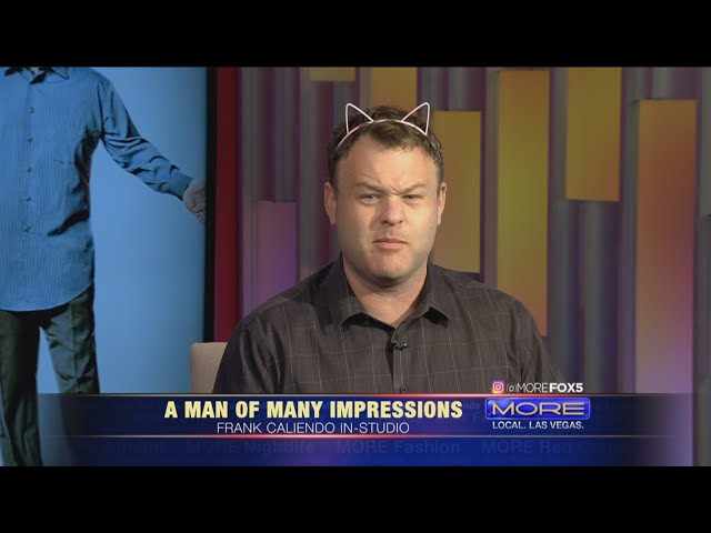 Comedian Frank Caliendo on MORE FOX5