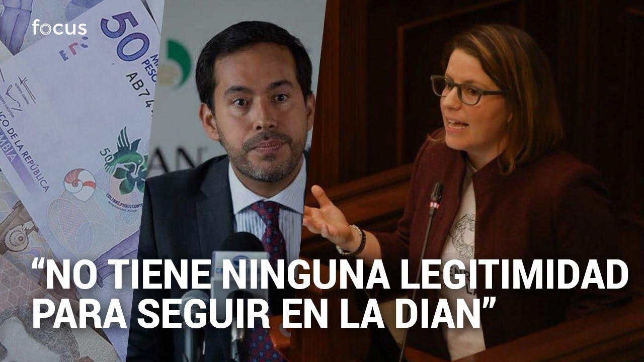 """""""Renuncie"""": Goebertus denuncia que director de la DIAN no reportó sociedad que creo en el exterior"""