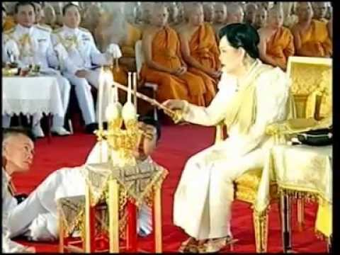 4JUN12 THAILAND ; 3of5 ; HM The Queen Regent Sirikit On The 2600th Buddha Jayanti Celebration
