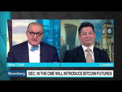Edmund Shing speaking on trading Bitcoin futures!