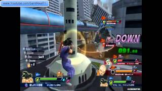 Dragonball Z - Zenkai Battle Royale - Gameplay HD