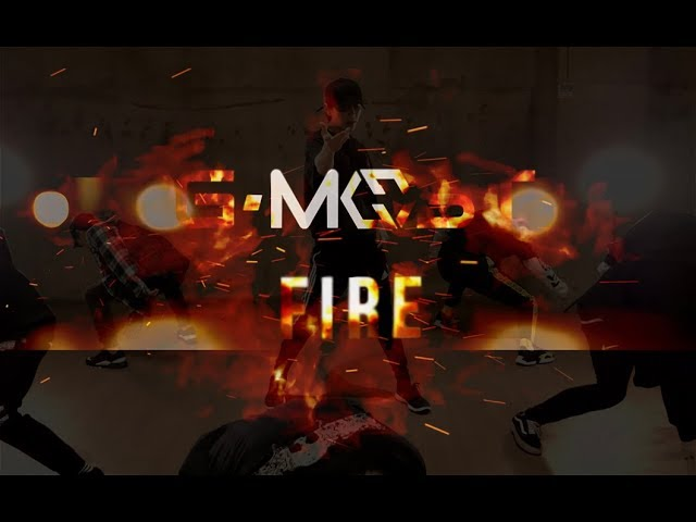 [CHOREOGRAPHY] GMOST (지모스트) 'FIRE' Dance Practice in Japan