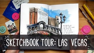 SKETCHBOOK TOUR: LAS VEGAS