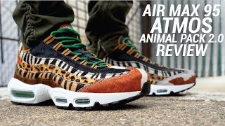 Mal humor Color rosa caliente  AIR MAX 95 ATMOS ANIMAL PACK 2.0 REVIEW - YouTube