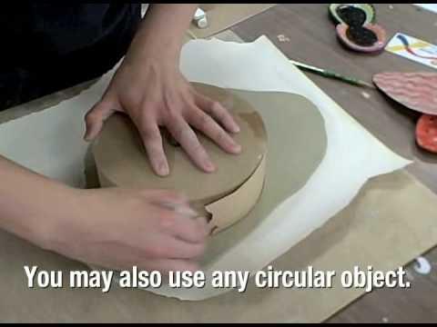 Ceramics: How to Make a Slab Plate