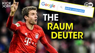WHY Thomas Müller is the world's most underrated player | THE RAUMDEUTER