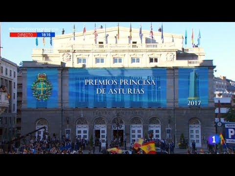 Ceremonia de entrega de los  #PremiosPrincesadeAsturias 2017