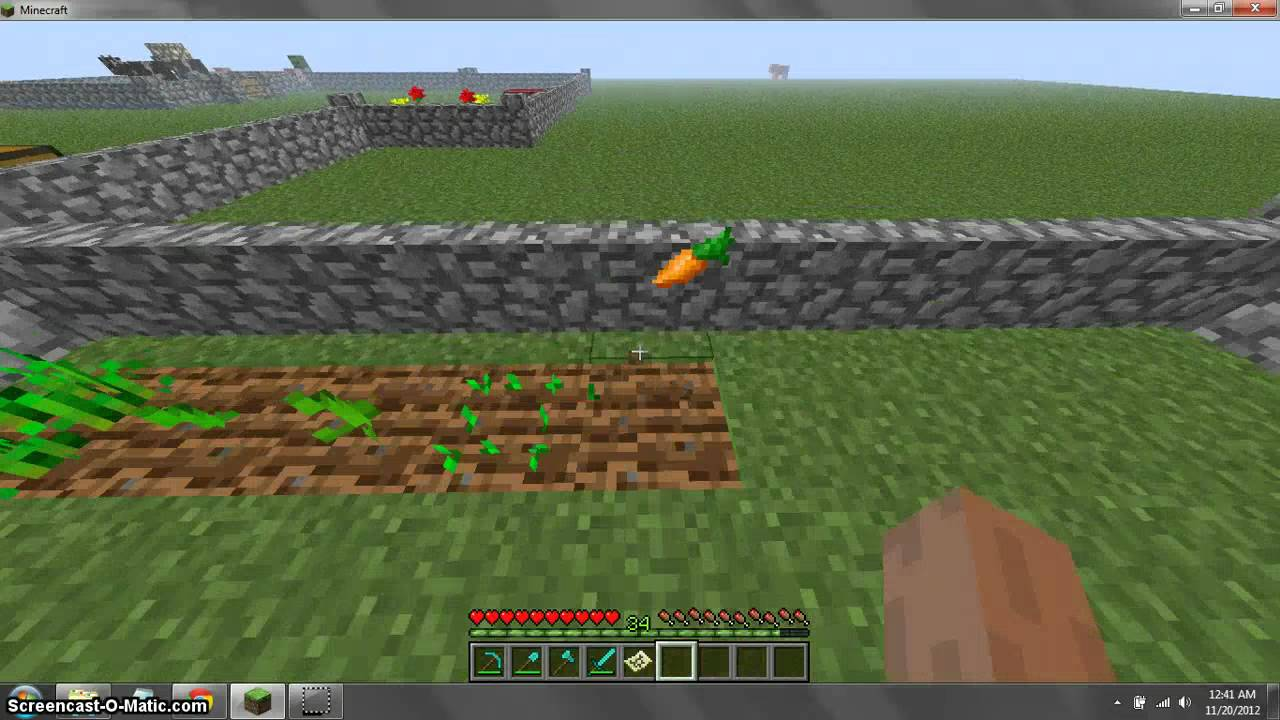 minecraft how to make seeds