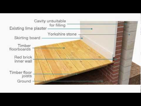 Suspended Ground Floor Insulation Amp Airtightness For A
