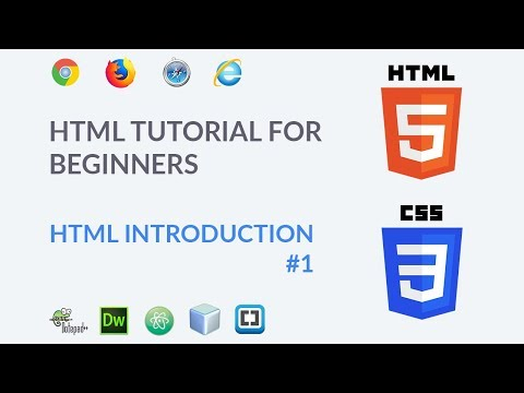 HTML Tutorial for beginners to Advance #1 || What Is HTML - Introduction  (Hindi) thumbnail