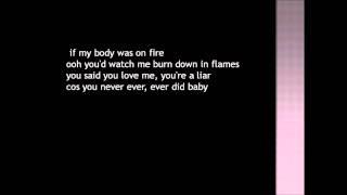 Bruno Mars - Grenade (songtekst)