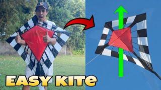 easy kite | layangan unik dan mudah dibuat