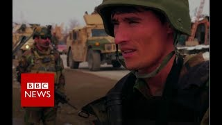 On patrol with Afghan Special Forces - BBC News