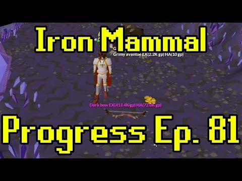 Oldschool Runescape - 2007 Iron Man Progress Ep. 81 | Iron Mammal