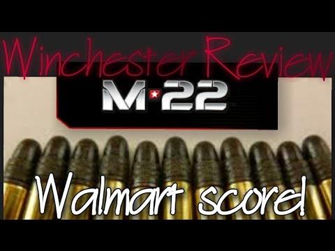 Winchester M22 22lr Review 2000 Round Walmart Score Plano Single