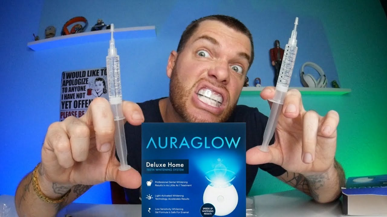 Hismile Auroglow Teeth Whitening Does It Really Work Youtube