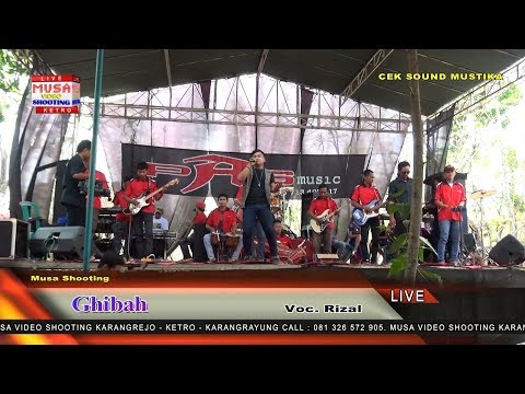 Ghibah cek sound Pas Music live in Ketro
