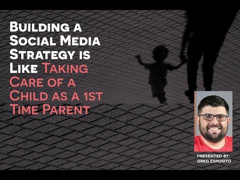 Building a Social Media Strategy is Like Taking Care of a Child as a 1st Time Parent