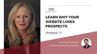 Learn Why Your Website Loses Prospects - (Analysis 1)