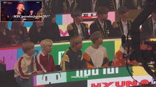 Download 171231 BTS,wannaone.RV reaction to Lovelyz  MBC2017