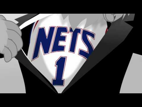 4b2a8125829 NJ Nets Sly - Secret Agent By Day. . . NBA Mascot By Night - YouTube