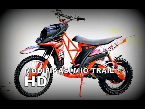 Top modifikasi mio trail