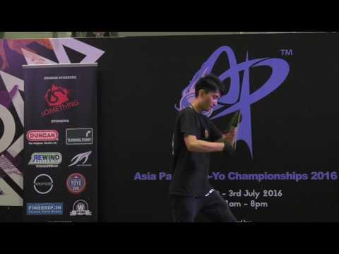 Sun Jiahao (CN): 1A Division Finals - Asia Pacific Yo-yo Championships 2016
