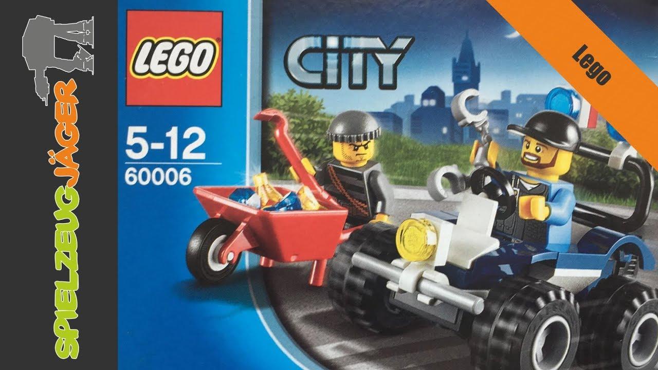 Lets Build Lego City Polizei Quad 60006 Hd German