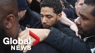 'Empire' actor Jussie Smollett released from custody after posting bond