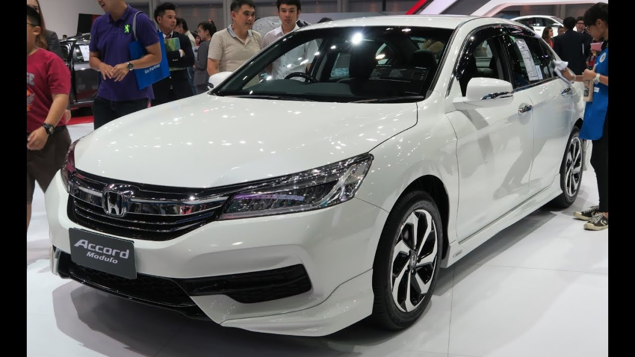 ภาพรถ ราคา Honda New Accord 2 0e ในงาน Bangkok International Motor Show 2016 The 37th