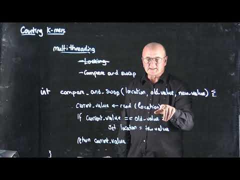 k-mer algorithms: Compare and Swap