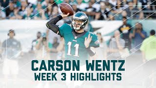 Every Carson Wentz Throw | Steelers vs. Eagles | NFL Week 3 Player Highlights